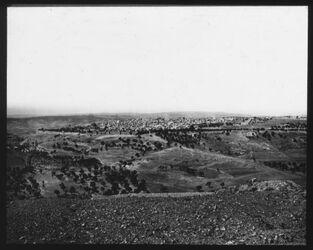 A V 16; Glasplattendia; Jerusalem v, NO um 1869