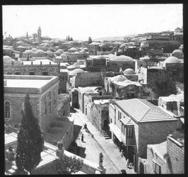 Glasplattendia v. Österr., Hospiz n. S. [Jerusalem]