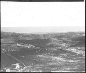Glasplattendia Aussicht v. Ölberg über abudis n. S. [Jerusalem]