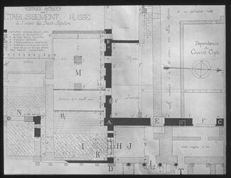 Glasplattendia Ausgrabungen im Alexanderhospiz n. Vincent [Jerusalem]