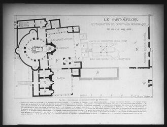 Glasplattendia Hl. Grab von 1048-1100 n. Vincent
