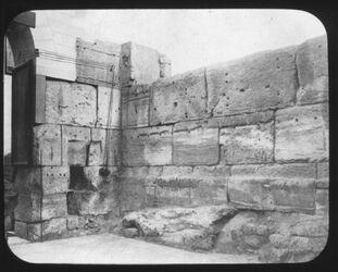 Glasplattendia Propyläen des Konstantinbaus [Jerusalem]