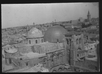 Glasplattendia Grabeskirche [Jerusalem]