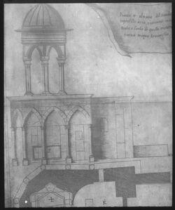 Glasplattendia Grabeskapelle n. Amico [Jerusalem]