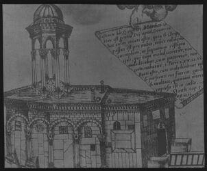 Glasplattendia Grabeskapelle n. Horn [Jerusalem]