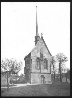 Glasplattendia Kapelle z. hl. Kreuz in Görlitz