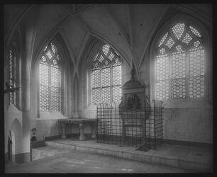 A XII 6; Glasplattendia; Oberlkapelle zum hl Kreuz, Görlitz