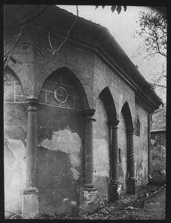 Glasplattendia Oberglogau [heute: Glogowek], Hl. Grab, Seite