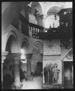 Glasplattendia Immichen [San Candido], Hl. Grab, Innichen, Hl. Grab - Kapelle