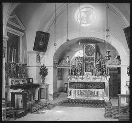 Glasplattendia Geiselungskapelle, Jerusalem