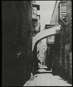Glasplattendia Via Dolorosa [Jerusalem]