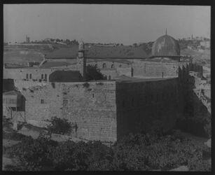 Glasplattendia Südwestecke des Haram [Jerusalem]