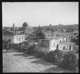 Glasplattendia Annenkirche v. NO [Jerusalem]