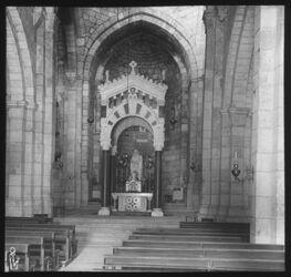 Glasplattendia Annenkirche in Jerusalem