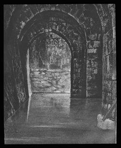 Glasplattendia Jerusalem, Bethesdateich in St. Anna