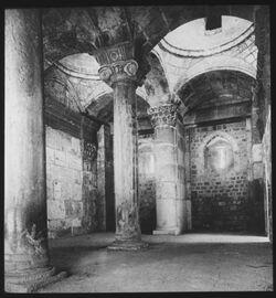 Glasplattendia Goldenes Tor (Inneres) um 1870 [Jerusalem]