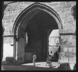 Glasplattendia Jerus., Bab el-Silsele z. Tempelplatz [Jerusalem]