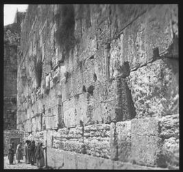 Glasplattendia Jerusalem, Klagemauer