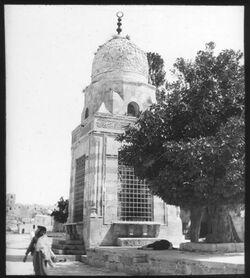 Glasplattendia sebil kaid bey, haram [Jerusalem]
