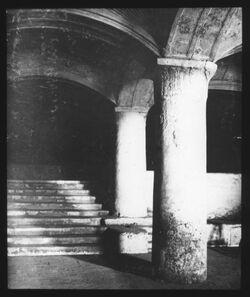 A XVI 10<br>Glasplattendia<br>Huldator unter Aksamoschee [Jerusalem]