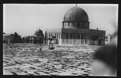Glasplattendia Jerusalem, Felsendom Jepsen