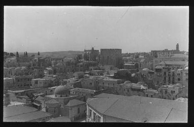Glasplattendia Jerusalem, Citadelle
