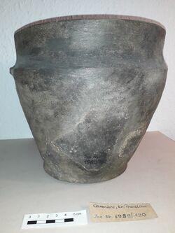 Keramikgefäß, Carmzow, Carmzow, Altkreis Prenzlau<br><br>