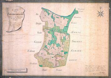 Carte über Friedrichshagen; Müller, 1777, AFL/G26.05/0011