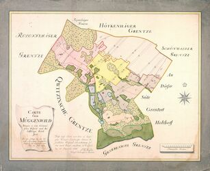 Carte über Müggenwald; Müller, 1765, AFL/G26.05/0013