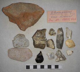Paläolithische Artefakte, Ehringsdorf, Ehringsdorf<br><br>
