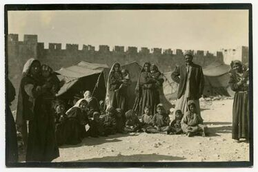 Fotografie Beduinen. Ob nanar? Jerusalem