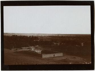 Fotografie Blick v. Berge über hammam sidna musa n. dem Hafen von et-tur [et-tor]