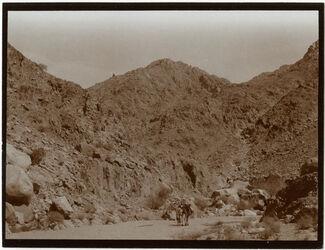 Fotografie Berg an Wendung des w. [wadi] tarfa [Wadi tarfa]
