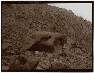 Fotografie felsblock im w. [wadi] su