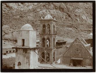 Fotografie Sinai [Gebel musa, Katharinenkloster] Kl. Kirche v. O