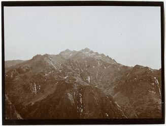 Fotografie Blick v. gebel [djebel, dschebel] musa n. S (g. [dschebel, gebel, djebel] kalerin)
