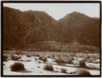 Fotografie w. [wadi] es-sech [esch-schech] Terrasse [Wadi esch-schech]