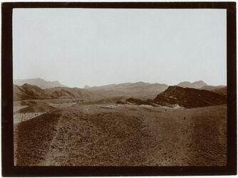 Fotografie Verwerfungen am w. [wadi] makatteb
