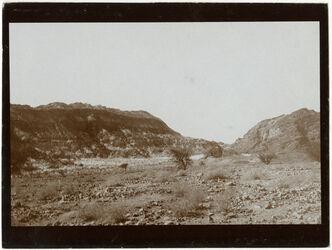 Fotografie Horizontale Schichten im w. [wadi] sidr