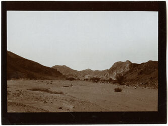 Fotografie im w. [wadi] nakb budra [Nakb el-Budra]