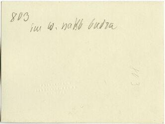 GDIs01011; Fotografie; im w. [wadi] nakb budra [Nakb el-Budra], aus Nachlass von rund 880 Fotografien von Valentin Schwöbel