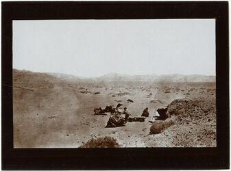 Fotografie Blick nach O v. der Küstenebene el-mascha