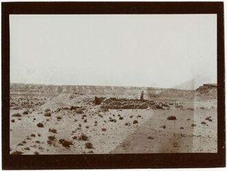 Fotografie Scheichgrab in d. Wüste bei Kairo