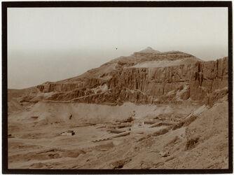 Fotografie der el-bahri