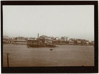 Fotografie Hafen v. Alexandrien [Alexandria] v. Schiff cf 852 [GDIs01052]