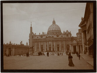Fotografie Rom, Petersdom