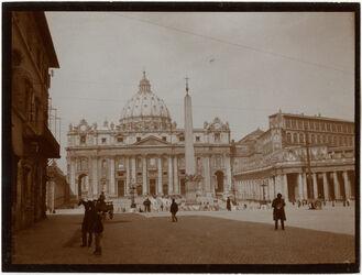 Fotografie Petersdom in Rom