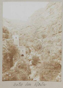 Fotoalbum Unter dem Kloster [Choziba, wadi kelt]