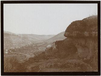 Fotografie Teich von bettir Blick n. d. Bahnhof [Wadi Bettiir]