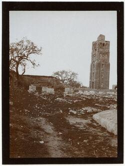 Fotografie Turm des bubars in ramle [Ramla, Weiße Moschee]